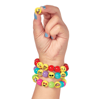 Creativity for Kids Emoji Bead Bracelet Craft Kit - Lifestyle 1
