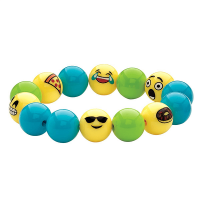 Creativity for Kids Emoji Bead Bracelet Craft Kit - Example 1