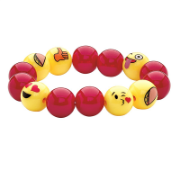 Creativity for Kids Emoji Bead Bracelet Craft Kit - Example 2