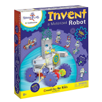 Creativity for Kids Invent a Motorized Robot Kit