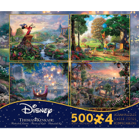Ceaco Disney Multi-Pack 500-Piece Puzzle