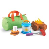 Learning Resources New Sprouts Camp Out Set
