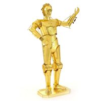 Fascinations Metal Earth Star Wars C3PO Gold