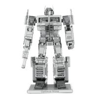 Fascinations Metal Earth Transformers Optimus Prime 3D Metal Model Kit