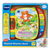 V Tech Musical Rhymes Book