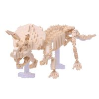 Schylling Nanoblock Triceratops Skeleton Model Kit