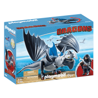 Playmobil How to Train Your Dragon Drago & Thunderclaw Set