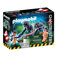 Playmobil Ghostbusters Venkman and Terror Dogs