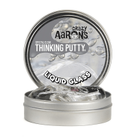 Crazy Aaron Liquid Glass Crystal Clear Thinking Putty