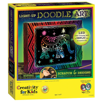 Creativity for Kids Light-Up Doodle Art Kit