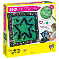 Creativity for Kids Sequin Drawing Board Kit - Box 1