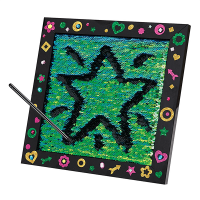 Creativity for Kids Sequin Drawing Board Kit - Lifestyle 1
