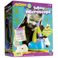 Educational Insights Geosafari Jr. Talking Microscope - Box Back
