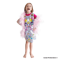 Great Pretenders Colour-A-Dress (Size 5-6)