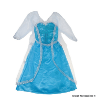 Great Pretenders Ice Queen Dress Size 5-6