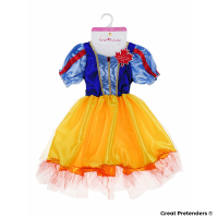 Great Pretenders Snow White Tea Party Dress (Size 5-6)