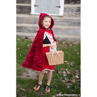 Great Pretenders Little Red Riding Hood Cape Size 5-7
