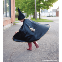 Great Pretenders Reversible Wizard Cape & Hat - 4