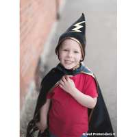 Great Pretenders Reversible Wizard Cape & Hat - 3