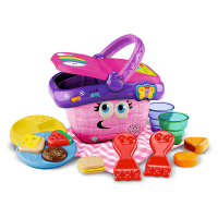 Leapfrog Shapes & Sharing Picnic Basket - Contents