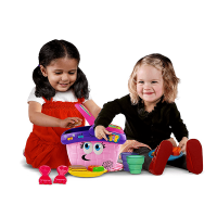 Leapfrog Shapes & Sharing Picnic Basket - Lifestyle 1