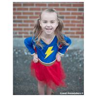 Great Pretenders Lightning Quick Adventure Chick Costume (Size 5-6)