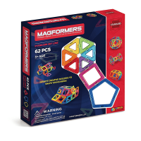Magformers Rainbow Set (62 PCS)