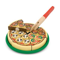 Melissa & Doug Pizza Party Wooden Play Set