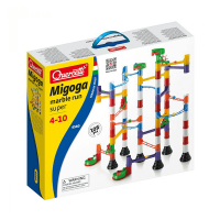 Quercetti 108 Piece Super Set Marble Run
