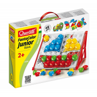 Quercetti Fantacolour Junior Basic Pegboard Set 48 Pieces