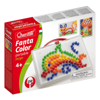 Quercetti Fantacolour Portable Peg Set 150 Pieces
