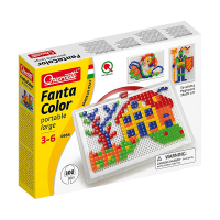 Quercetti Fantacolour Portable Peg Set 300 Pieces