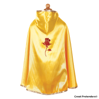 Great Pretenders Reversible Snow White & Belle Cape Size 5-6