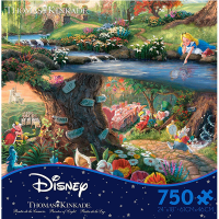 Ceaco Disney Alice in Wonderland 750 Piece Puzzle