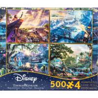 Ceaco Disney Dreams Collection Multi-Pack 500-Piece Puzzle