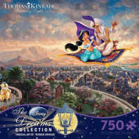 Ceaco Disney Dreams Aladdin 750 Piece Puzzle