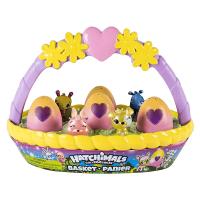 Hatchimals CollEGGtibles Spring Basket with 6 Hatchimal Toys