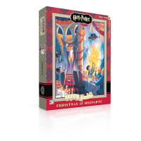Harry Potter Christmas at Hogwarts 500 Piece Puzzle
