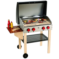 Hape Gourmet BBQ Grill with Food