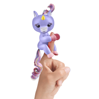 Fingerlings Alika the Unicorn Light Purple