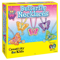 Creativity for Kids Butterfly Necklaces - Children's Jewelry Maker