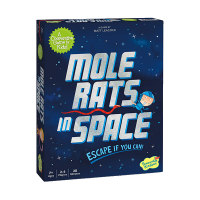 Peaceable Kingdom Mole Rats in Space Board Game