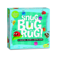 Peaceable Kingdom Snug as a Bug in a Rug Preschool Game