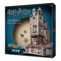 Wrebbit 3D Harry Potter Burrow - Weasley Family Home Jigsaw Puzzle 415 Piece