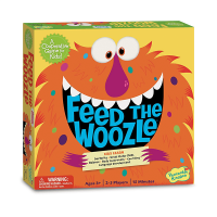 Peaceable Kingdom Feed the Woozle Preschool Game