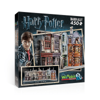 Wrebbit 3D Harry Potter Diagon Alley Jigsaw Puzzle 450 Piece