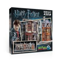 Wrebbit 3D Harry Potter Diagon Alley Jigsaw Puzzle 450 Piece