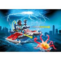 Playmobil Zeddemore with Aqua Scooter Playset