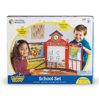 Learning Resources Pretend and Play School Set - US Version