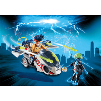 Playmobil Ghostbusters Stantz with Skybike Playset